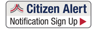 Citizen Alert Notification Sign Up